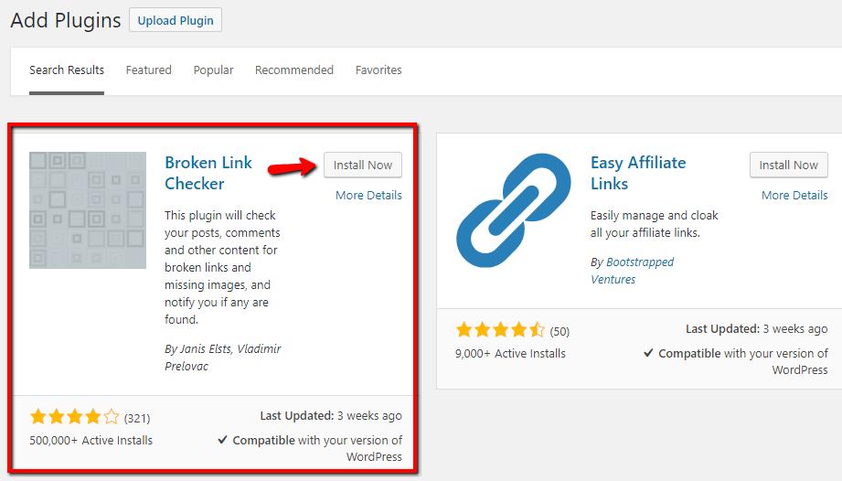 Broken Link Checker SEO WordPress Plugin