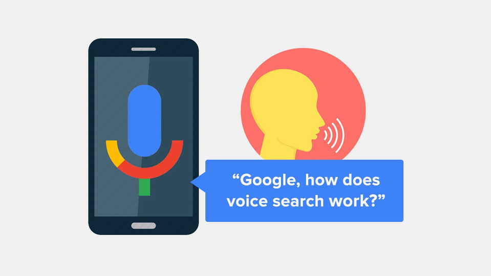 What is a voice search?